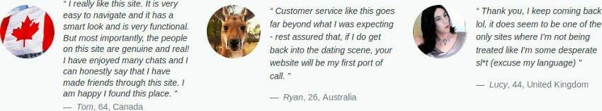 Testimonial about consumer regarding to the dating website to meet transgender
