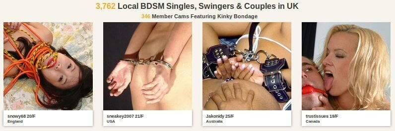 Find BDSM singles and couples around you : testimonial about alt.com