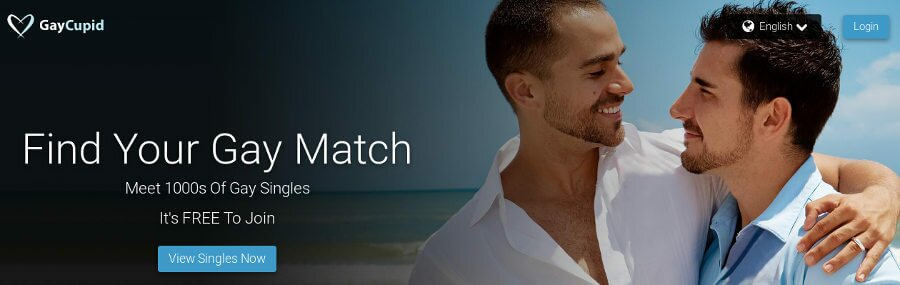 GayCupid : meet and have a date with a single gay man through a dating website